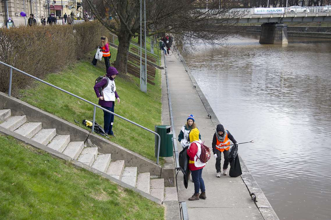 Clean Beach event in Turku, picture: City of Turku