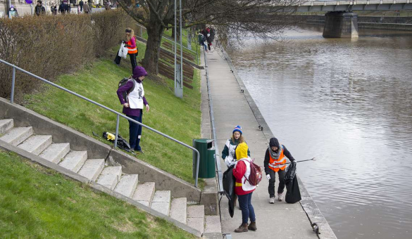 Clean beach event in Turku_Picture: City of Turku