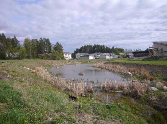 Haarla's stormwater pond…